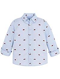 30ce38cbe Mayoral - Camisa - Rayas - Manga Larga - para niño
