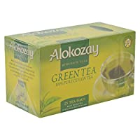 Alokozay Naked Green Tea Bags, 25 Bags