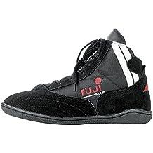 fuji Mae - Botines de boxeo negro negro Talla:46