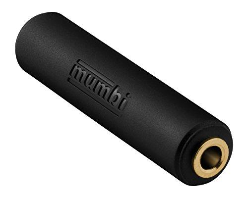 mumbi Audio Klinke Doppelkupplung - 3.5mm Klinke Buchse auf 3.5mm Klinke Buchse vergoldet Audio-buchse