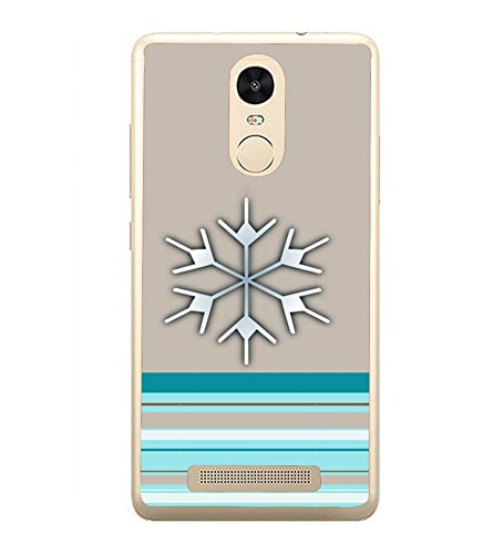 Fiobs Designer Back Case Cover for Xiaomi Redmi Note 3 :: Xiaomi Redmi Note 3 Pro :: Xiaomi Redmi Note 3 MediaTek (Blue band Grey color)