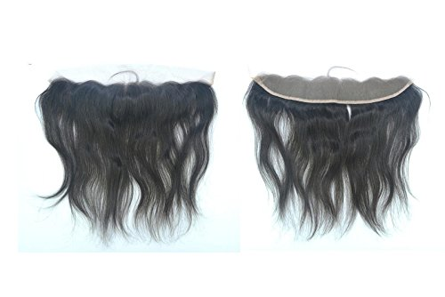 brésilien Dentelle frontale Fermeture Cheveux Fermeture en dentelle sur le dessus d'une oreille à 13 * 2