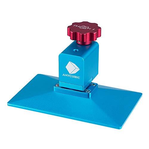 ANYCUBIC gebürstete Druckplattform Modul 3D Drucker Ersatzteile Vollmetall mit Drahtführung Druckplatte 135 x 80 mm kompatibel mit Photon/Photon S