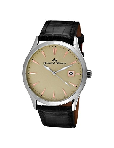 Reloj Yonger & Bresson hombre Beige–HCC 046/EA–Idea regalo Noel