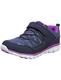 Gola Luna Velcro, Zapatillas de Deporte para Exterior para Niñas