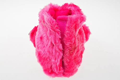 Gibra ® tierhausschuhe «bärentatzen enfant-rose-taille 30/31/34/35 Rose - Rose