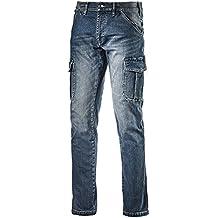 Diadora Pantalone da Lavoro Multitasche Jeans Taglia 46 172115 Cargo Denim cb2975c66a54