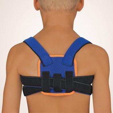 bort 104600 Kinder blau StabiloFix für Kinder Geradehalter zur Haltungskorrektur, Kinder, blau