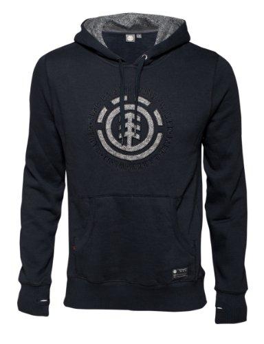 element-eaton-sweat-shirt-pour-homme-s-noir-noir
