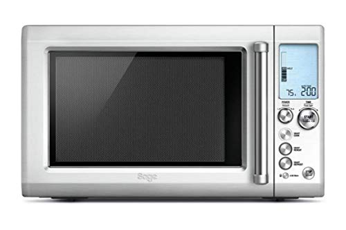 Sage BMO700BSS the Quick Touch Crisp Microwave with Smart Cook Menu - Silver