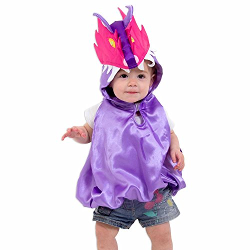 (Drachen Kostüm für Kleinkinder 0-3 Jahre alt - Babykostüm Drache für Mädchen - Lucy Locket)