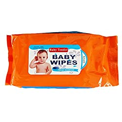 Baby Tender Baby Wipes 80 Sheets