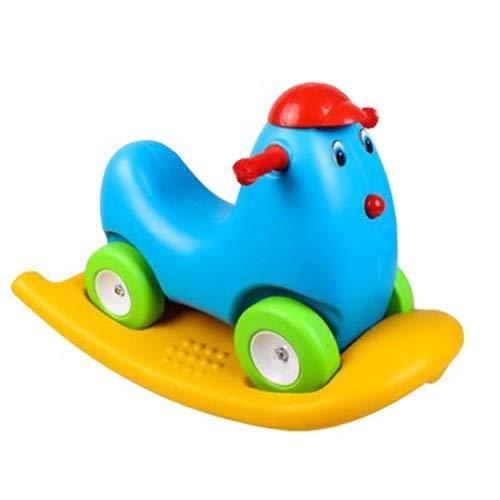 Szblk Baby-Balance-Bikes, Mini-Fahrrad, Kinderwanderer-Spielzeugfahrten für 18-36 Monate Kein Pedal-Kleinkind 4 Räder-Kleinkinders Roller der Kinder Yo-Auto-Baby-Vierradläufer Walker Kindergarten Mimi