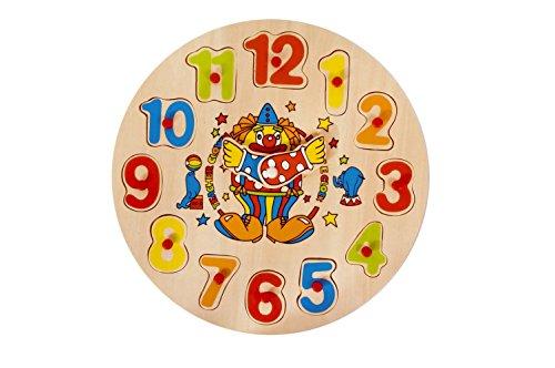 Pino Clown Uhr Puzzle (Mehrfarbig) Preisvergleich