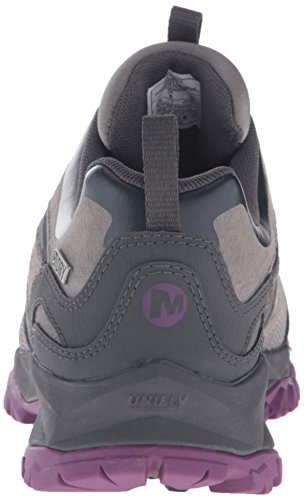 Merrell Capra Bolt Leather WTPF W, Chaussures de Gymnastique Femme Gris