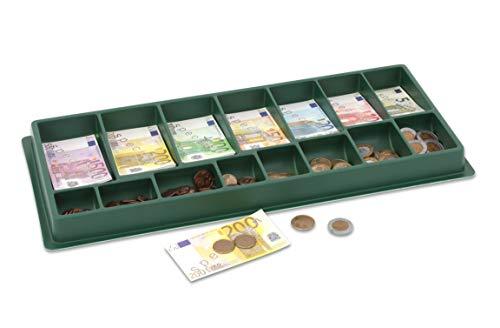 Betzold 2463 - Rechengeld in Eurokasse -290 tlg., 130 Scheine und 160 Münzen, Rechenspiel, Mathematik