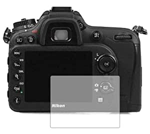 3 x Membrane Screen Protectors for Nikon D7100 - Crystal Clear, Retail Package with accessories