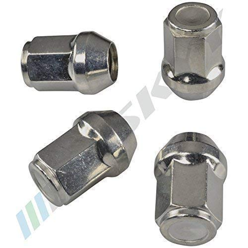 Alurad Shop Mkem121534 Zinc Écrous pour Jantes 20 Argent