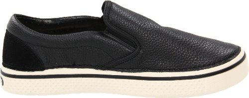 crocs - Sneaker Hover Slip On Leather, Uomo Nero (NoirTRB339)