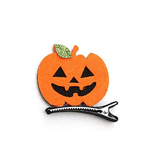 mimagogy Halloween Kinder Haarnadeln Kürbisschläger Baby-Haarnadeln Dress Up Hair Clips -