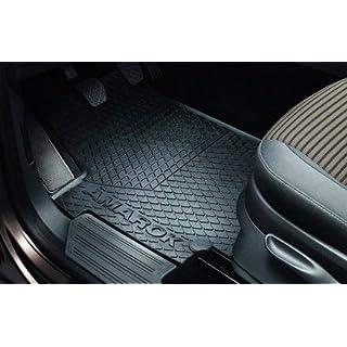 Original Volkswagen Gummi Fußmatten Set VW Amarok 4-teilig vorn+hinten schwarz Doppelkabine 2H1061500A 82V