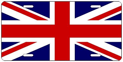 UK United Kingdom Flagge License Plate Neuheit Auto Tag Vanity Geschenk Union Jack ()