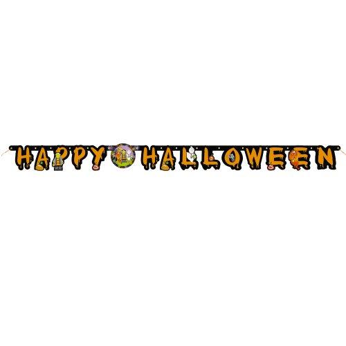 Unique Party Supplies / Halloween-Buchstabengirlande Kleine ()