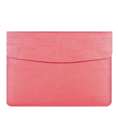 YiJee Sleeve Borsa Impermeabile Caso Portatile Custodia Ventiquattrore 13 Pollice Pink