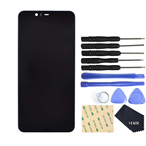 VEKIR Digital LCD Display Touch Screen Replacement for Nokia 5.1 Plus Nokia X5(Black) Display Screen Digital Photo
