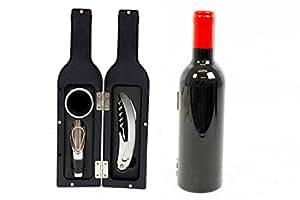 Vin Décapsuleur Outil Kit de fermeture magnétique Coffret cadeau en forme de bouteille bar Décoration