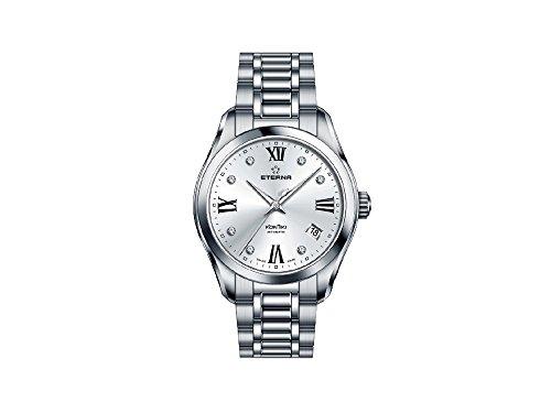 Eterna Lady KonTiki Automatic Watch, SW 200-1, 36,4mm, Diamonds, 1260.41.16.1731