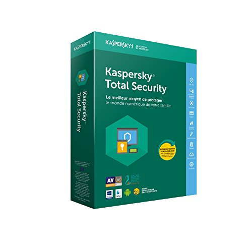 Kaspersky Total Security 2018 - 5 Devices - 1 Year [Sent By Email] [Download Version]