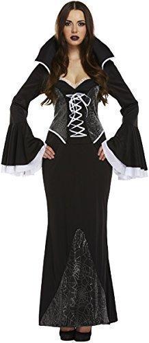 D/UP ADULT WEB VAMPIRESS (Frauen Dracula Kostüme)