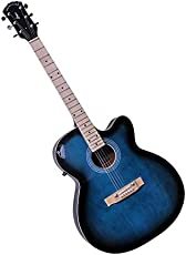 Signature Musicals SMBBG001 Acoustic Guitars With Gig Cover(Blue)