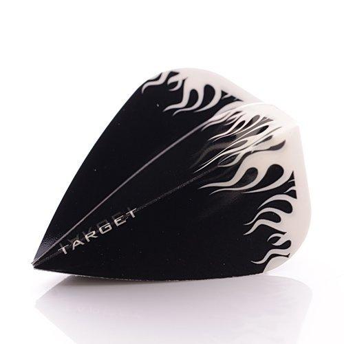 3/x SETS TARGET PRO KITE Form Darts Flights schwarz