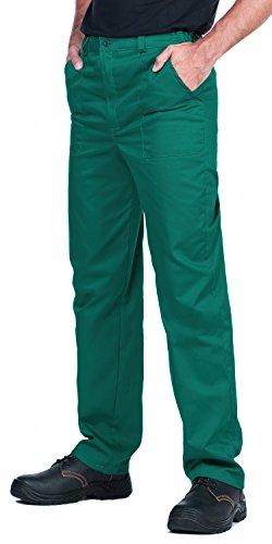 ProWear Herren Arbeitshose, Bundhose, Größen S-XXXL,Arbeitskleidung (XXL, Grün)