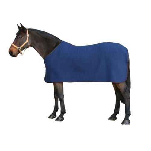 PFIFF 002037 Pferde Fleecedecke, Fleece Pferdedecke, Dunkelblau 135