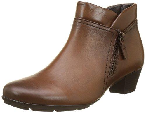 Gabor Shoes Damen Basic Stiefel, Braun (Sattel (Effekt)), 42 EU (Sattel-schuh Heels)