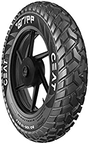 Ceat Gripp 90/100 - 10 53J Tube-Type Scooter Tyre, Rear (Not Tubeless Tyre)