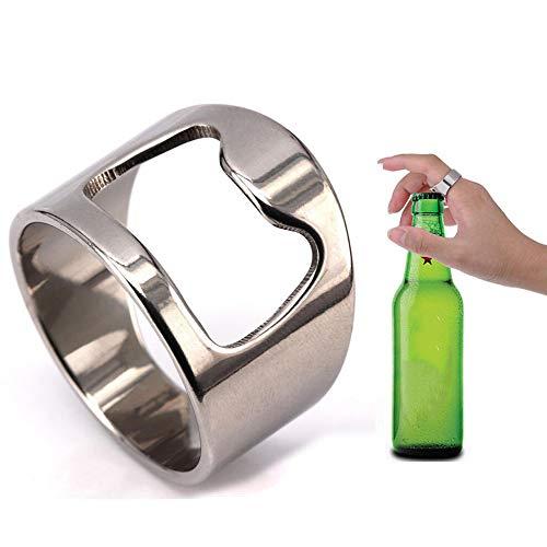Aofocy Edelstahl Ring Flaschenöffner (Ring Flaschenöffner)