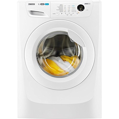 Zanussi LINDO300 freestanding Front-load 9kg 1200RPM A+++ White Washing Machine - Washing Machine (Freestanding, Front Load, White, Buttons, Left, LCD)
