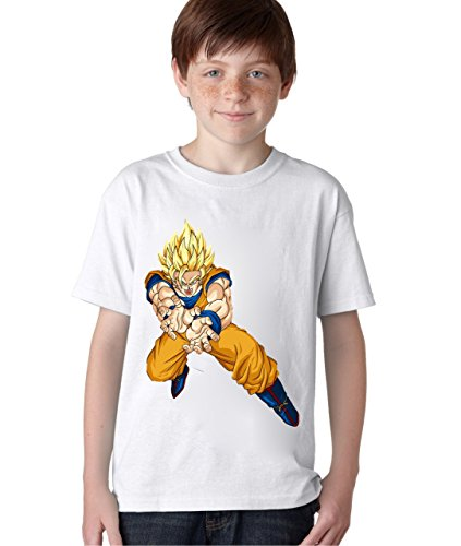 Character Baby T-shirt (DBZ Character Goku Unisex Baby Kids T-Shirt Ages 5-13 Extra Small)