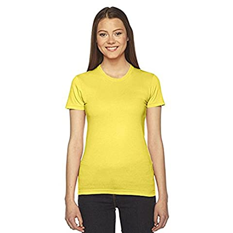American Apparel Damen Modern T-Shirt Gr. M, sunshine