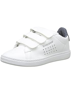 Le COQ Sportif Courtset PS Craft Optical White/Dress Bl, Zapatillas para Niños