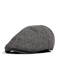 WITHMOONS Sombreros gorras Boinas Bombines Wool Newsboy Hat Flat Cap SL3021 e65581220c5