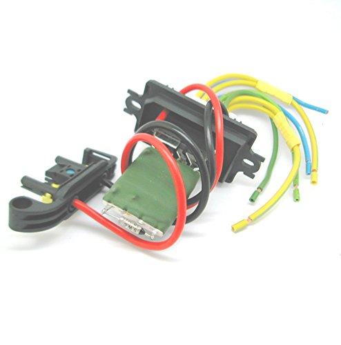 QDI Heater Blower Resistor AND Wiring Harness Loom repair kit plug for Renault Megane 2 Test