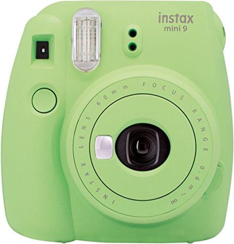 Fujifilm Instax Mini 9 lime grün mit Tasche