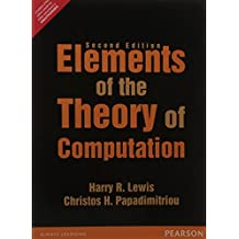 Elements Of The Theory Of Computation, 2Nd Edn