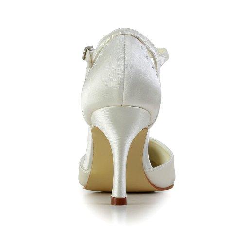 Jia Jia Wedding A3117 Scarpe Sposa Scarpe col tacco donna Beige