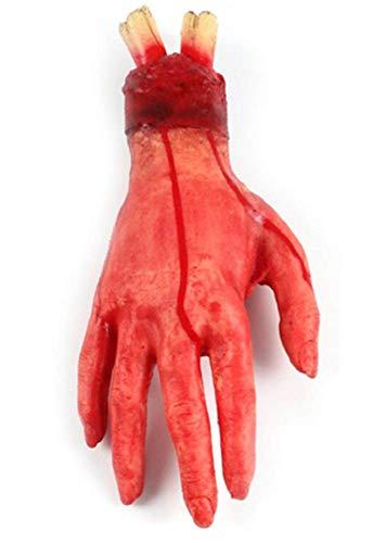 Inception Pro Infinite Gefälschte Hand - Weich - Realistisch - Schnitt - Blutig - Blutend - Halloween - Karneval - Cosplay - Zubehör - Verkleiden - Trick